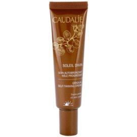 Caudalie Soleil Divin samoopalovací krém na obličej  30 ml