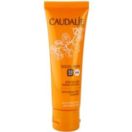 Caudalie Soleil Divin crema contur pentru bronzat SPF 50  40 ml