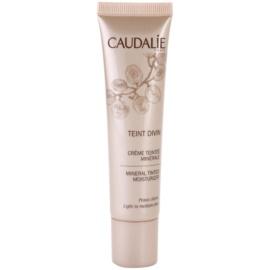 Caudalie Teint Divin minerální hydratační tónovací krém odstín Light To Medium Skin 30 ml