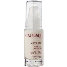 Caudalie Vinosource hydratisierendes Serum für das Gesicht  30 ml