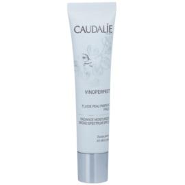 Caudalie Vinoperfect posvjetljujući hidratantni fluid za ujednačavanje tena lica SPF 20  40 ml