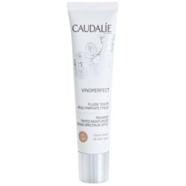 Caudalie Vinoperfect aufhellendes Tönungsfluid mit feuchtigkeitsspendender Wirkung Farbton 01 Light SPF 20  40 ml