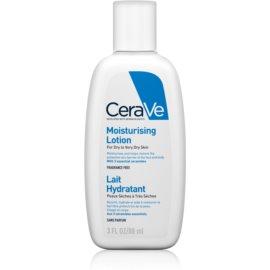 CeraVe Moisturizers vlažilno mleko za obraz in telo za suho do zelo suho kožo  88 ml