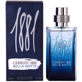 Cerruti 1881 Bella Notte Eau de Toilette para homens 125 ml