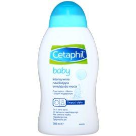 Cetaphil Baby emulsión limpiadora hidratación intensa para bebé lactante  300 ml