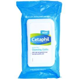 Cetaphil Cleansers toalhitas suaves de limpeza  25 un.