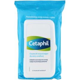 Cetaphil Cleansers tisztító törlőkendő az érzékeny arcbőrre  25 db