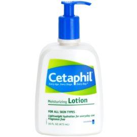 Cetaphil Moisturizers leite corporal hidratante para todos os tipos de pele  473 ml