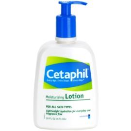 Cetaphil Moisturizers leche corporal hidratante para todo tipo de pieles  473 ml