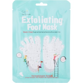Cettua Clean & Simple Exfoliating Foot Mask for Cracked Skin + Socks 1 pár