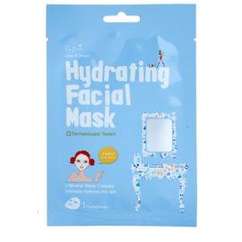 Cettua Clean & Simple plátenná maska s vysoko hydratačným a vyživujúcim účinkom