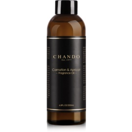 Chando Fragrance Oil Carnation & Apricot wkład 200 ml