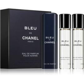 Chanel Bleu de Chanel woda perfumowana dla mężczyzn 3 x 20 ml (3 x napełnienie)