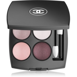 Chanel Les 4 Ombres intenzivní oční stíny odstín 202 Tissé Camélia 2 g
