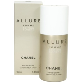 Chanel Allure Homme Édition Blanche deodorant Spray para homens 100 ml