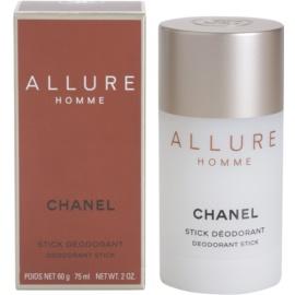 Chanel Allure Homme desodorizante em stick para homens 75 ml