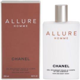 Chanel Allure Homme gel de duche para homens 200 ml