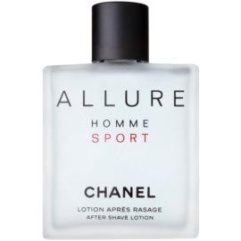 Chanel Allure Homme Sport voda po holení pro muže 100 ml tester