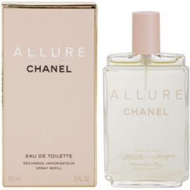 Chanel Allure woda toaletowa dla kobiet 60 ml uzupełnienie