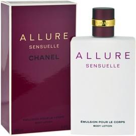 Chanel Allure Sensuelle tělové mléko pro ženy 200 ml