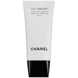 Chanel CC Cream krema za poenotenje kože SPF 50 odtenek 20 Beige  30 ml