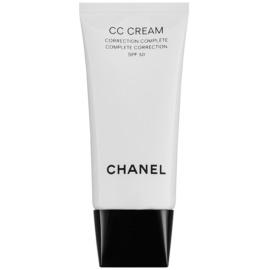 Chanel CC Cream krema za poenotenje kože SPF 50 odtenek 30 Beige  30 ml