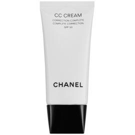 Chanel CC Cream krema za poenotenje kože SPF 50 odtenek 40 Beige  30 ml