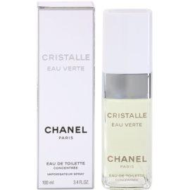 Chanel Cristalle Eau Verte Concentrée Eau de Toilette voor Vrouwen  100 ml