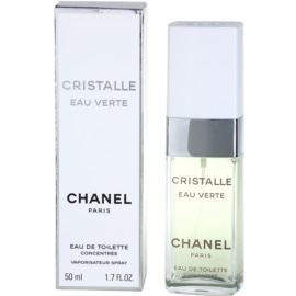 Chanel Cristalle Eau Verte Concentrée Eau de Toilette voor Vrouwen  50 ml