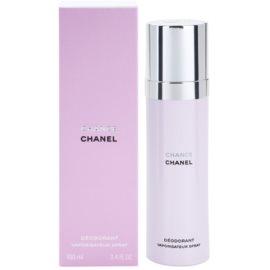 Chanel Chance deodorant Spray para mulheres 100 ml