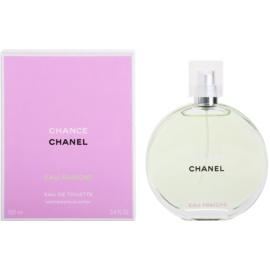 Chanel Chance Eau Fraîche Eau de Toilette para mulheres 100 ml