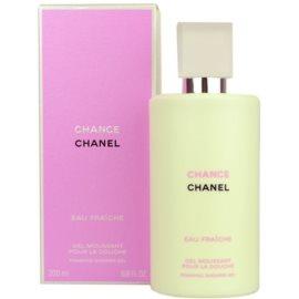 Chanel Chance Eau Fraiche gel de duche para mulheres 200 ml