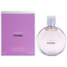 Chanel Chance Eau Vive toaletna voda za ženske 50 ml