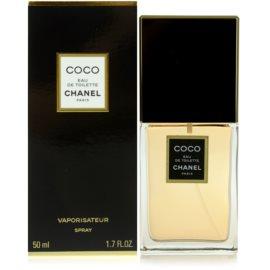 Chanel Coco Eau de Toilette pentru femei 50 ml