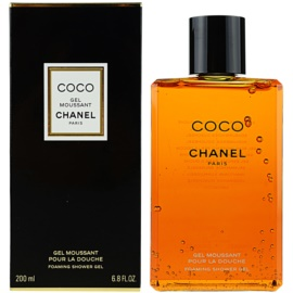 Chanel Coco gel za prhanje za ženske 200 ml