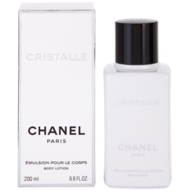 Chanel Cristalle leche corporal para mujer 200 ml