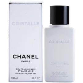Chanel Cristalle Duschgel für Damen 200 ml