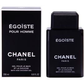 Chanel Egoiste gel de ducha para hombre 200 ml