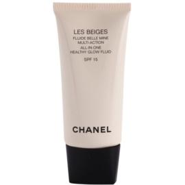 Chanel Les Beiges ultra lehký fluid zdravý vzhled pleti SPF 15 odstín 10  30 ml