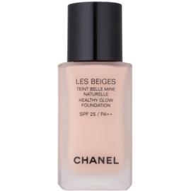 Chanel Les Beiges rozjasňující make-up pro přirozený vzhled SPF 25 odstín N°20  30 ml