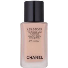 Chanel Les Beiges rozjasňující make-up pro přirozený vzhled SPF 25 odstín N°30  30 ml