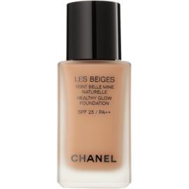 Chanel Les Beiges rozjasňující make-up pro přirozený vzhled SPF 25 odstín N°50  30 ml