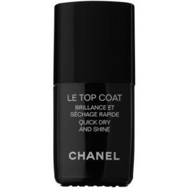 Chanel Le Top Coat Lac pentru protejarea ojei cu efect de stralucire  13 ml