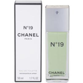Chanel No.19 Eau de Toilette für Damen 50 ml