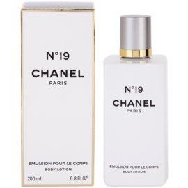 Chanel No.19 tělové mléko pro ženy 200 ml
