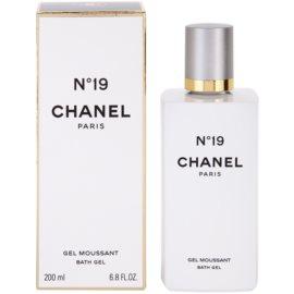 Chanel No.19 gel de dus pentru femei 200 ml