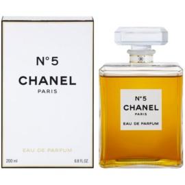 Chanel No.5 parfémovaná voda pro ženy 200 ml bez rozprašovače