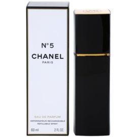 Chanel No.5 parfémovaná voda pro ženy 60 ml plnitelná