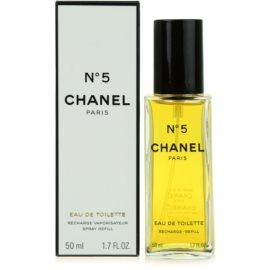 Chanel No.5 eau de toilette nőknek 50 ml töltelék
