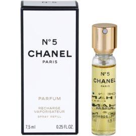 Chanel No.5 parfém pre ženy 7,5 ml náplň s rozprašovačom